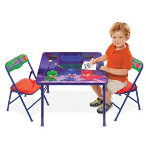 PJ Masks Activity Table & Chairs Set