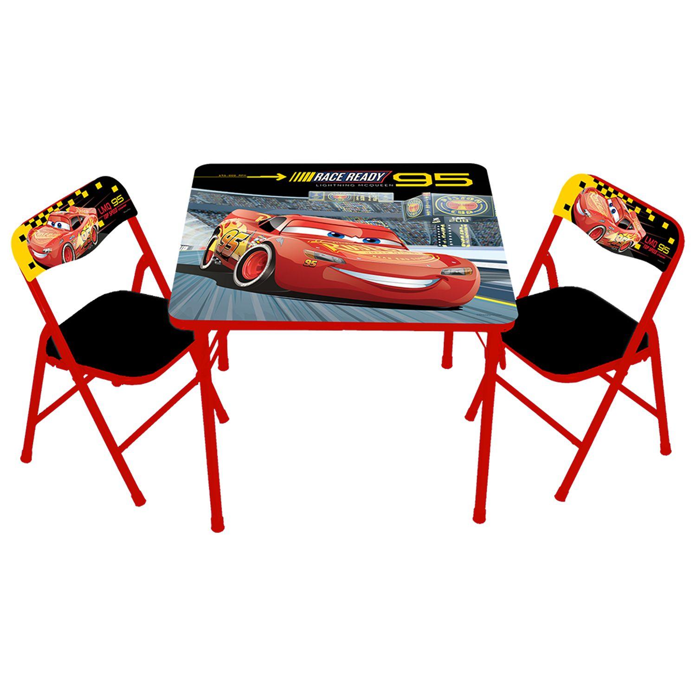 sc 1 st  Kohlu0027s & Disney / Pixar Cars 3 Activity Table u0026 Chairs Set