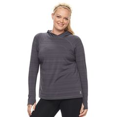 Plus Size FILA SPORT® Hooded Pullover