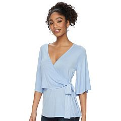 Maternity a:glow Wrap Nursing Top