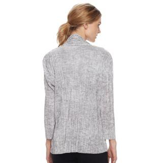 Women's Dana Buchman Textured Open-Front Cardigan
