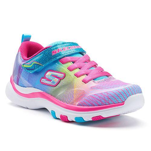 Skechers Pepsters Rainbow Preschool Girls' Sneakers