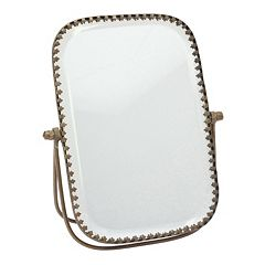 Stonebriar Collection Beveled Mirror Table Decor