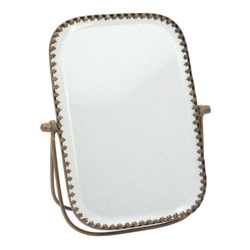 Stonebriar Collection Beveled Mirror Table Decor