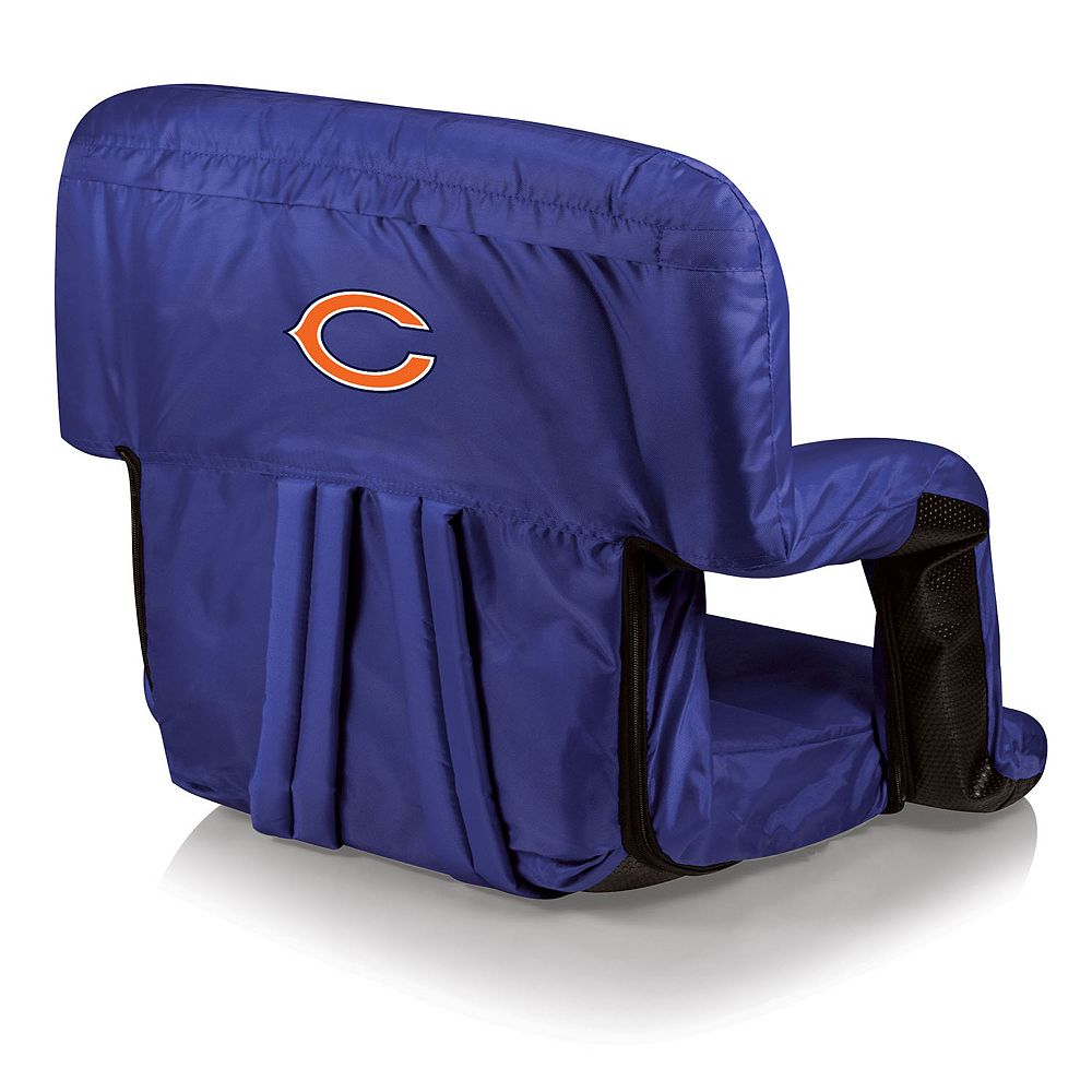 Magnificent Picnic Time Chicago Bears Ventura Portable Recliner Chair Ocoug Best Dining Table And Chair Ideas Images Ocougorg