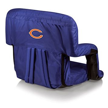 Picnic Time Chicago Bears Ventura Portable Recliner Chair