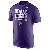 Men's Nike LSU Tigers Local Verbiage Tee