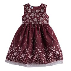 Girls 4-6X Blueberi Boulevard Embellished Dress
