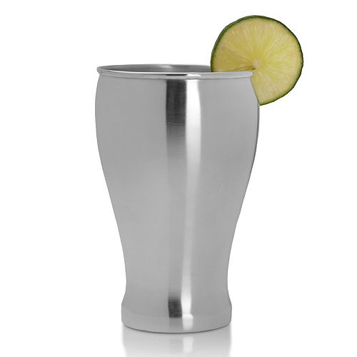 Mikasa Silver-Plated Pilsner Glass