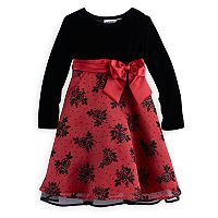 Girls 4-6x Blueberi Boulevard Rose Embellished Dress