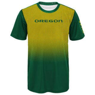 Boys 8-20 Oregon Ducks Bitmapped Dri-Tek Tee