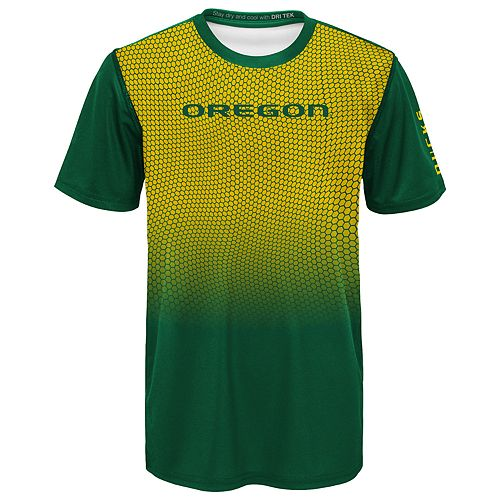 Boys 8-20 Oregon Ducks Bitmapped Dri-Tek Tee