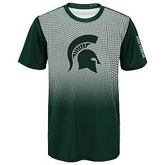 Boys 8-20 Michigan State Spartans Bitmapped Dri-Tek Tee