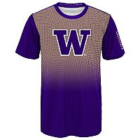 Boys 8-20 Washington Huskies Bitmapped Dri-Tek Tee