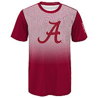 Boys 8-20 Alabama Crimson Tide Bitmapped Dri-Tek Tee