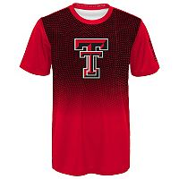 Boys 8-20 Texas Tech Red Raiders Bitmapped Dri-Tek Tee