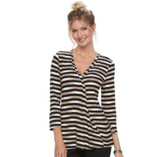 Women's Dana Buchman Release-Pleat Top