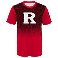 Boys 8-20 Rutgers Scarlet Knights Bitmapped Dri-Tek Tee