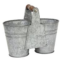 Stonebriar Collection Decorative Bucket Table Decor