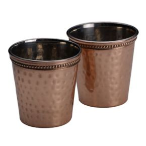 Mikasa 2-pc. Hammered Copper Shot Glass Set