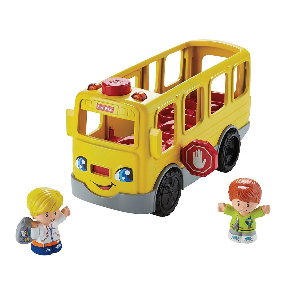 Price Little People Sit with Me School Bus