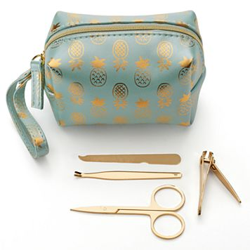 LC Lauren Conrad Pineapple Travel Manicure Kit