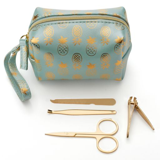 LC Lauren Conrad Pineapple Travel Manicure Kit