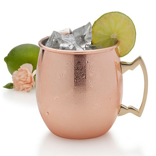 Towle Living Copper-Plated Moscow Mule Mug