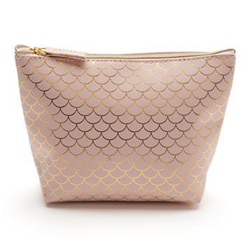 LC Lauren Conrad Scalloped Print Cosmetic Bag