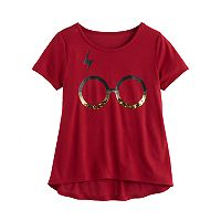 Girls 7-16 Harry Potter Glasses Graphic Tee