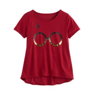Girls 7-16 & Plus Size  Glasses Graphic Tee