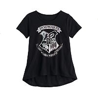 Girls 7-16 Harry Potter Hogwarts Shield Graphic Tee