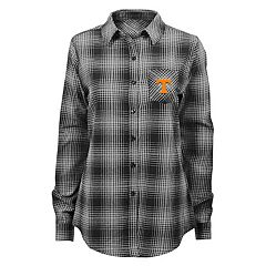 Juniors' Tennessee Volunteers Dream Plaid Shirt