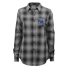 Juniors' Kentucky Wildcats Dream Plaid Shirt