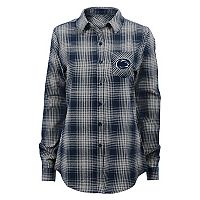 Juniors' Penn State Nittany Lions Dream Plaid Shirt
