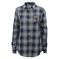 Juniors' West Virginia Mountaineers Dream Plaid Shirt