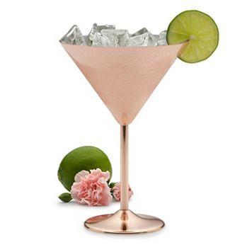 Towle Living Copper-Plated Martini Glass