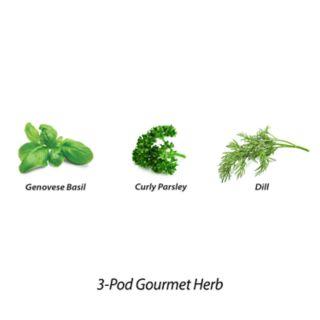 Miracle-Gro AeroGarden Gourmet Herb 3-Pod Seed Kit