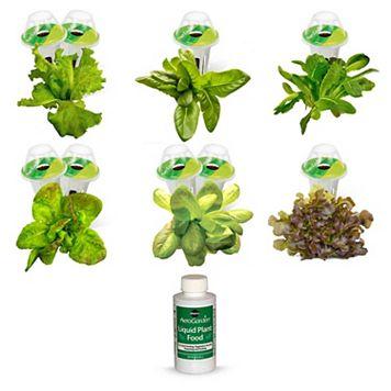 Miracle-Gro AeroGarden Heirloom Salad Greens 9-Pod Seed Kit