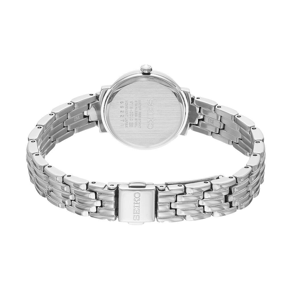Seiko Women's Tressia Diamond Solar Watch