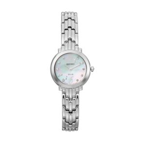Seiko Women's Tressia Diamond Solar Watch