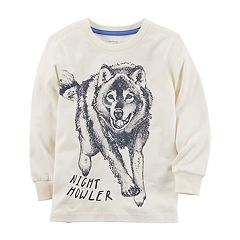 Boys 4-8 Carter's Wolf 'Night Howler' Graphic Tee