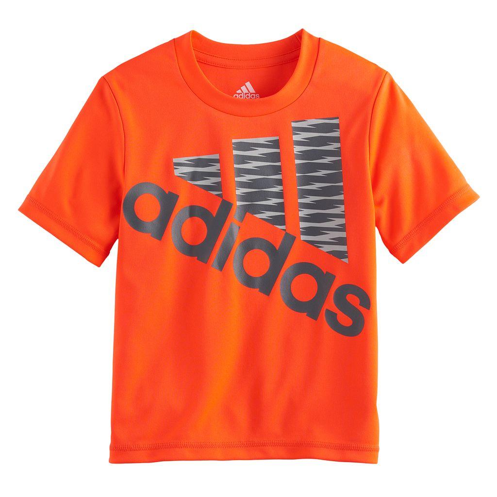 Boys 4-7x adidas Shockwave Logo Tee
