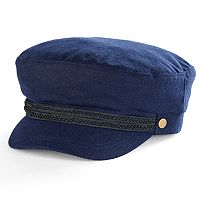 Women's Apt. 9® Braided Trim Wool Sailor Cadet Hat