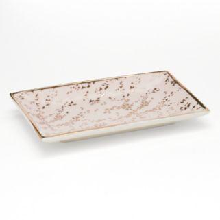 LC Lauren Conrad Foil Print Ceramic Trinket Tray