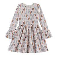 Girls 4-10 Jumping Beans® Bell-Sleeved Skater Dress