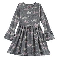 Girls 4-10 Jumping Beans® Bell-Sleeved Skater Dress