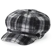 Women's Apt. 9® Plaid Newsboy Hat