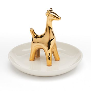 LC Lauren Conrad Giraffe Ring Holder Trinket Tray