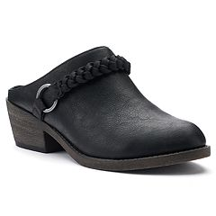 SO® Literally Women's Heeled Clogs